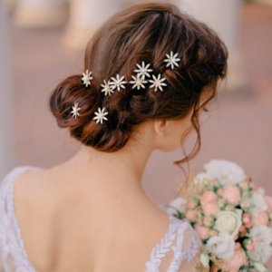 CB1813 - Athena Crystal Bejewelled WeddingHair Pins