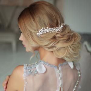 CB7208 - Athena Pearl Allure Hair Comb