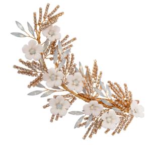 CB7396 - Athena Charlotte Headpiece Wedding Hair Accessories