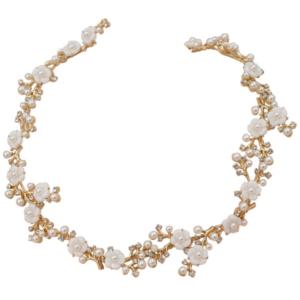 Athena Eternally Pearl Hair Vine - Gold